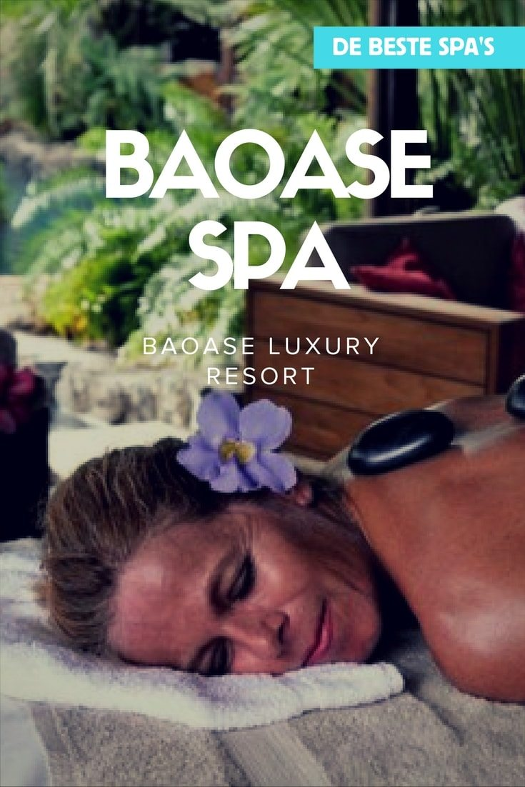 De beste spa's van Curacao - Baoase luxury spa