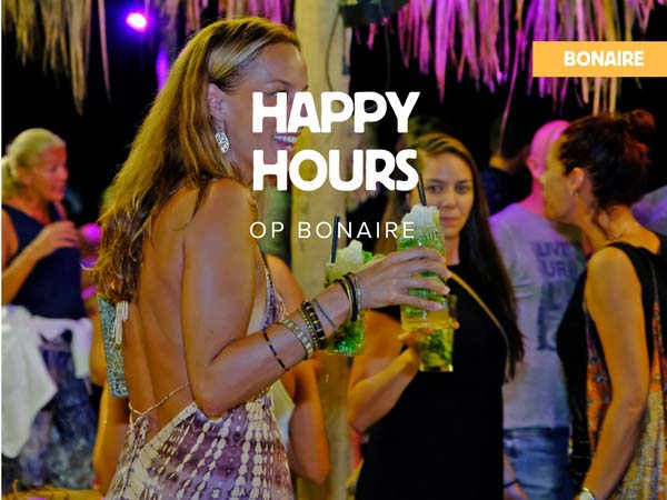 Happy hours op Bonaire