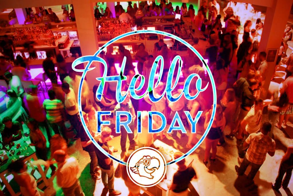 Hello Friday bij Papagayo Beach Club