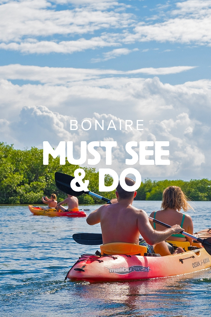 Must see & must do op Bonaire