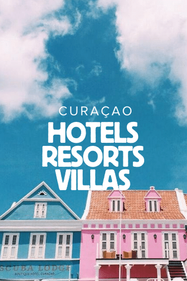 Where to sleep in Curacao - the best resorts, hotels and villas on Curacao island in the Caribbean